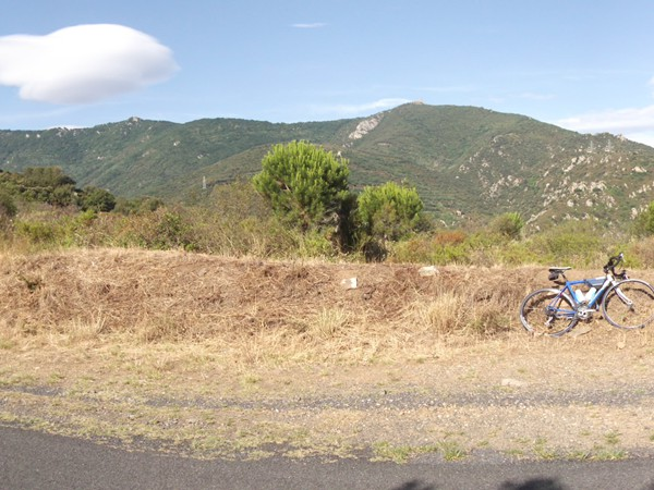 Peu après le Col de la Ruine – 265 m.