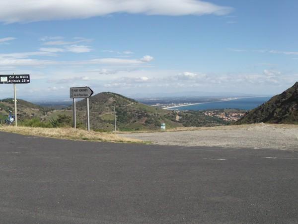 Col de Mollo - panorama Nord.