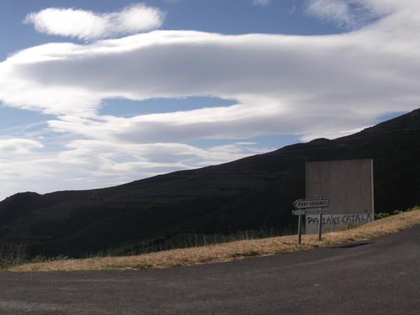 Col de Mollo - panorama Sud.