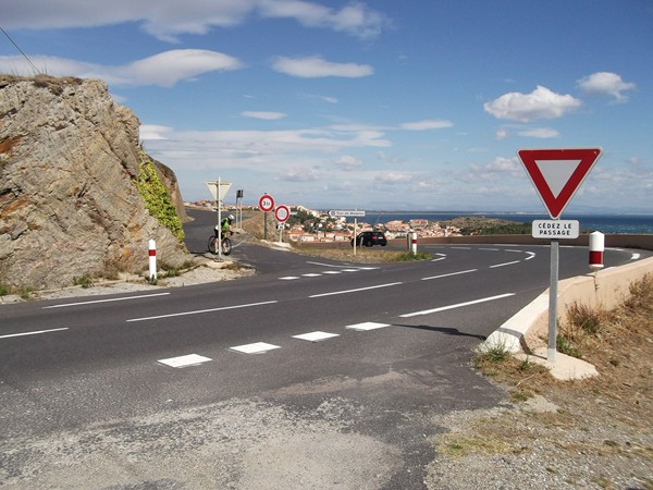 Au Col de las Portas - 77 m.
