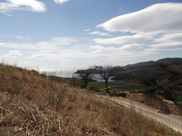 Col de las Portas - vue au Sud avec l'Anse de Paulilles.