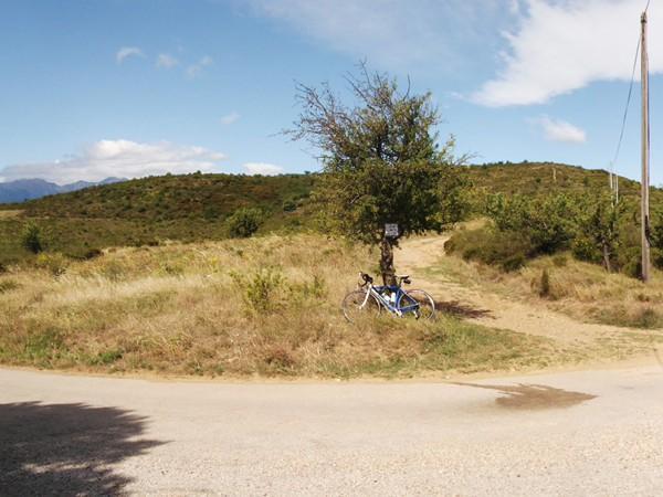 Le Col de Creu - 383 m.