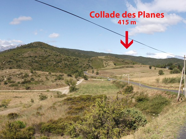 Collade des Planes - 415 m.