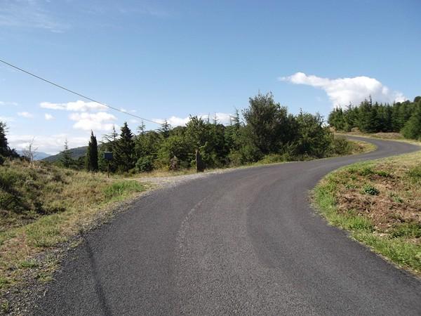Le Col de la Font Rouge - 465 m.